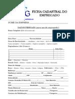 Ficha Cadastral de Empregado