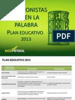 79546 Plan Educativo 2013