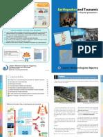 Brochure Earthquake and Tsunami