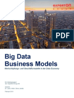 Experton Big Data Business Models 2013 Teaser