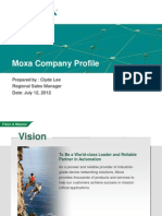 Company Profile - MOXA