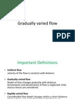 Gradually Varied Flow