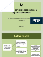 Prácticas Agroecológicas Andinas