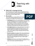 J. Harmer - Teaching With Video - Chapter 20 - The Practice of English Language Teaching