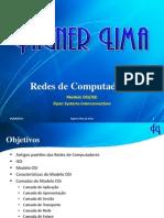 Redes de Computadores - Modelo de Referência OSI/ISO