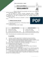 Regulamento e Fisica 12 13