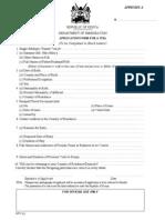 Kenya - Visa Application