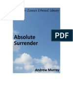 Andrew Murray- Absolute Surrender!