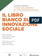 Il libro bianco sulla innovazione sociale