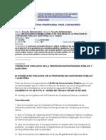 Codigo de Etica Profesional Para Contadores