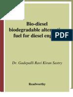 Biodiesel Para Motores Diesel