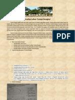 Analisa Lahan Taman Bungkul