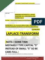 Laplace Transform Pdf Book