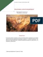 Léxico sobre procesos y estructuras geológicas - Jorge Oyarzún
