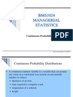 Continuous Probability Distribution (1)