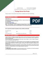 GO01 Package Genius One Private