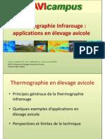 Thermographie en Elevage Avicole