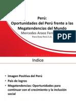 Mercedez Araoz Oportunidades Presentación para Dow Perú 2011