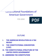 Constitutional Foundations of American Government
