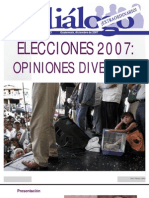 diálogo extra Diciembre 2007