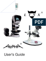 Lynx Alpha Users Guide
