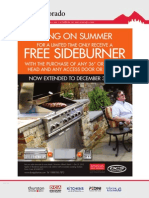 """FREE DCS SideBurner with the purchase of any 36"""" or 48"""" Grill Head"""