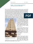 Indian Temples - A Structural Marvel-Vivek