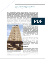 Indian Temples - A Structural Marvel-Vivek