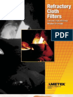 Refractory Cloth Filters Documentation