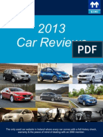 2013 Cars Release