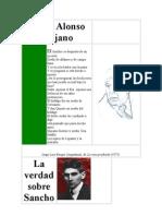 Sueña Alonso Quijano