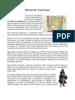 Historia del  Tecún Uman y de la Marimba