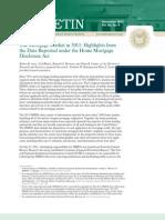 Mortgage Market in 2011_HMDA