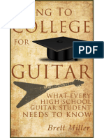 Going To College For Guitar - What Every High School Guitar Student Needs To Know