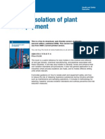 Hsg253 the Safe Isolation of Plant and Equipment
