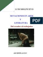 Mutaciones en Arte y Literatura
