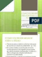 slide 2 - Publicidade no rádio