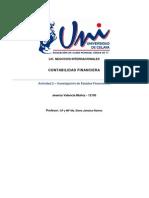 Actividad 2 – Investigación Estados Financieros- Jessica Valencia Muñoz - 12195