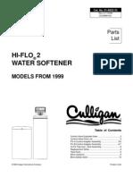 Culligan HiFlo2 - Parts List
