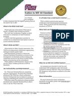 TechneticPlus WQA GoldSealCertification