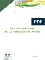 Les économistes et la croissance verte
