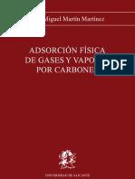 Adsorcion Fisica de Gases y Vapores Por Carbones