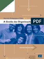 GESTÃO DAS ORGANIZAÇÕES [UE - 2001]