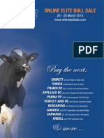 Sale Catalog - Diamond Genetics Online Elite Bull Sale