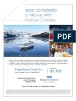 12 Night Alaska Southbound CruiseTour