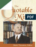The Quotable Mises