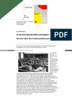 Europa im Griff der Mafia - Ralf Krüger - Ist die internationale Mafia unbesiegbar - lpb_bw_de
