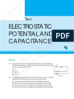 Electrostatic, Potential and Capacitance
