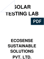 Solar Testing Lab