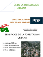 Beneficios de La Forestacion Urbana